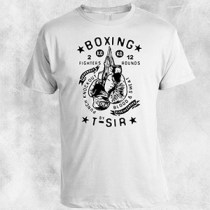 Boxing bela majica
