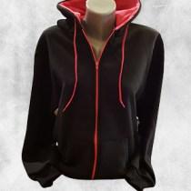 zenska duks jakna crna ciklama