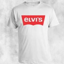 elvis bela majica