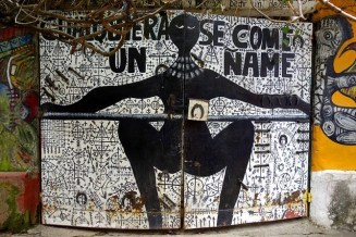 Mural, Santeria the worship of Saints