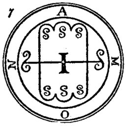 The Symbol of Aamon - Grand Marquis of Hell