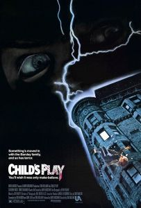 Child's play Horror Movie poster 1988