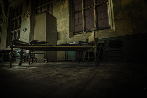 Psych Ward in an abandoned building