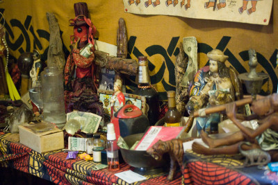 Voodoo Altar in New Orleans