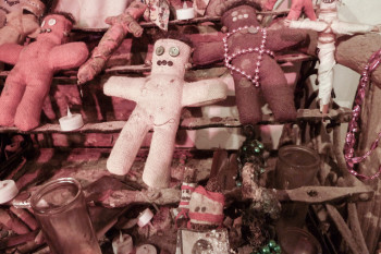 Voodoo dolls in the Voodoo Museum