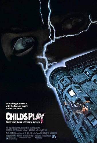 Childs Play Horror Movie Poster