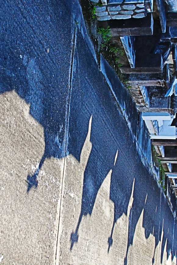 Lafayette Cemetery 2 Puzzle Box Horror images row of tombs with shadow