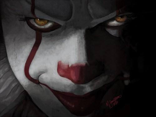 Penny Wise Fan Art - Horror Clown