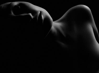 Silhouette of a woman, Succubus