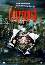 Critters 3 horror movie poster