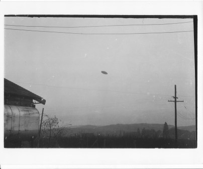 UFO Sighting 1950 - McMinnville, Oregon