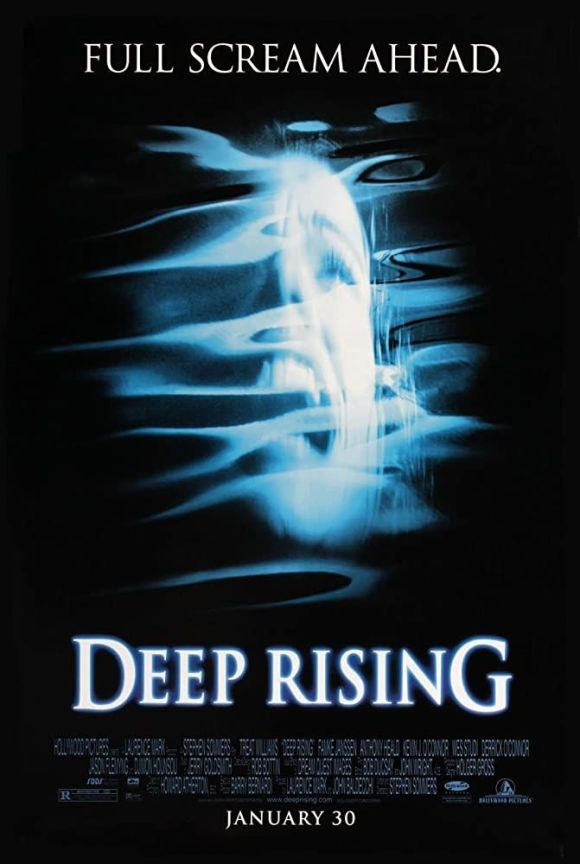 deep rising horror movie poster
