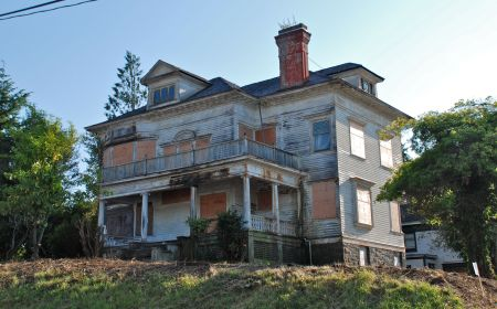 The Harry Flavel House in Astoria, Oregon