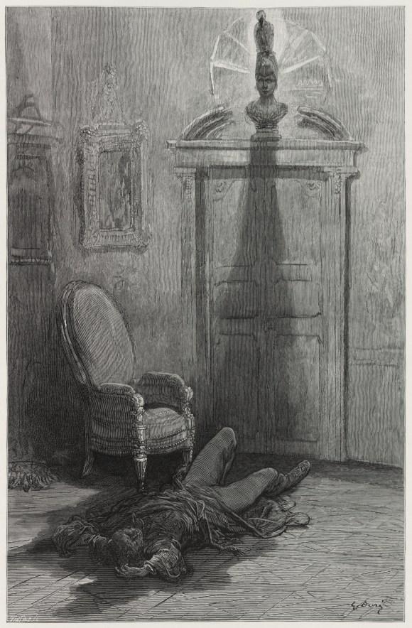 The Raven Illustration