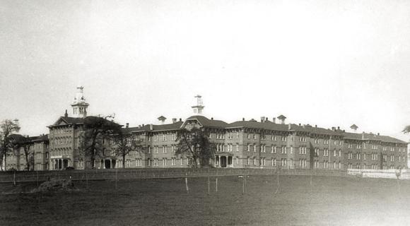 Oregon State Hospital in 1895