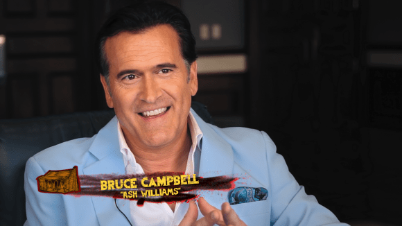 Bruce Campbell aka Ash Williams from the Evil Dead