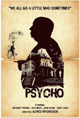 Psycho Movie Poster (1960)