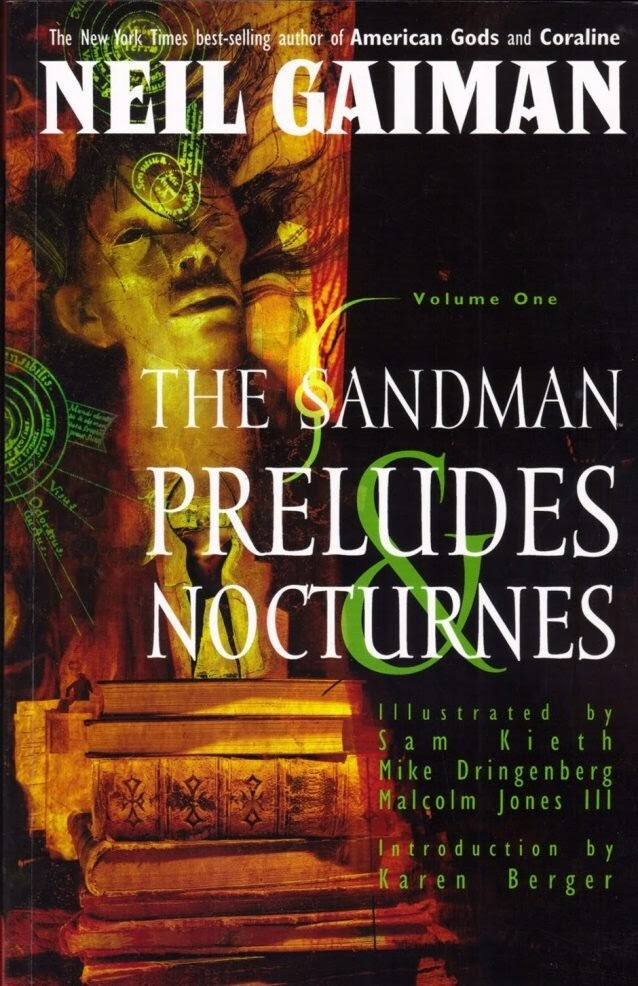 Neil Gaiman Preludes Nocturnes Cover