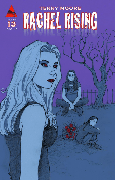 Rachel Rising Supernatural Horror Comic Cover