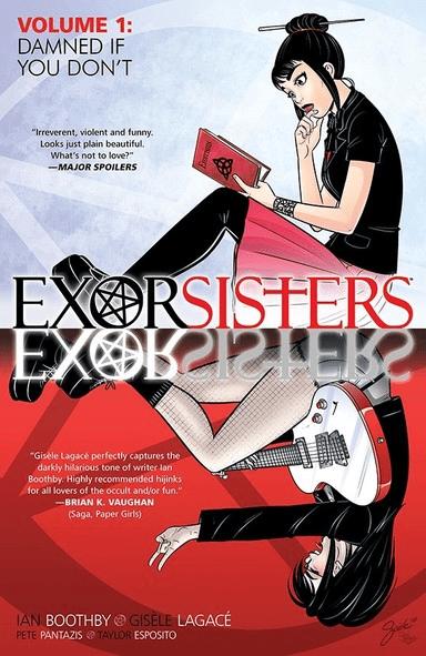 Exorsisters Supernatural Horror Comic Cover