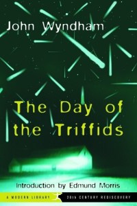 The day of the triffids Sci-fi horror book cover