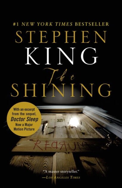 The Shining by Stephen King book cover