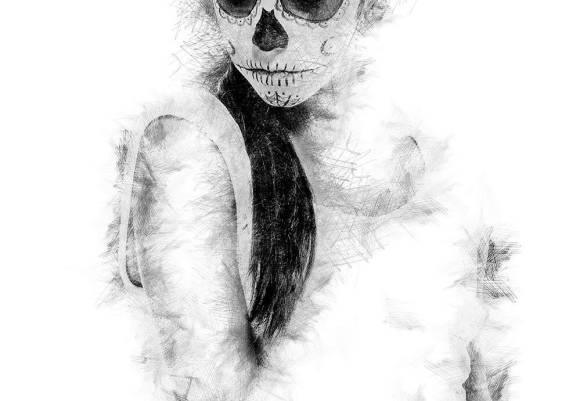La Mala Hora Lady in White
