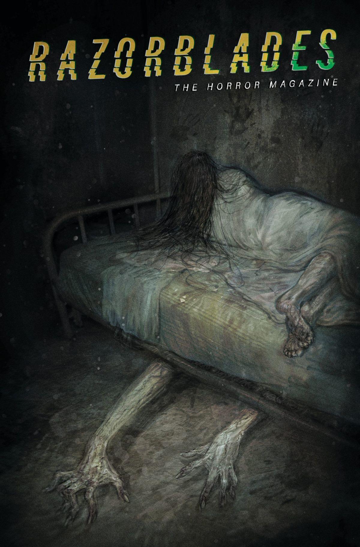 Razorblades horror comic cover