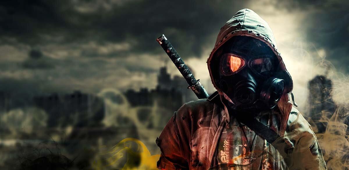survival horror image post apocalyptic scene