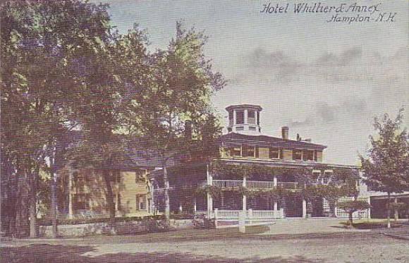 Hampton NH hotel post card from 1910