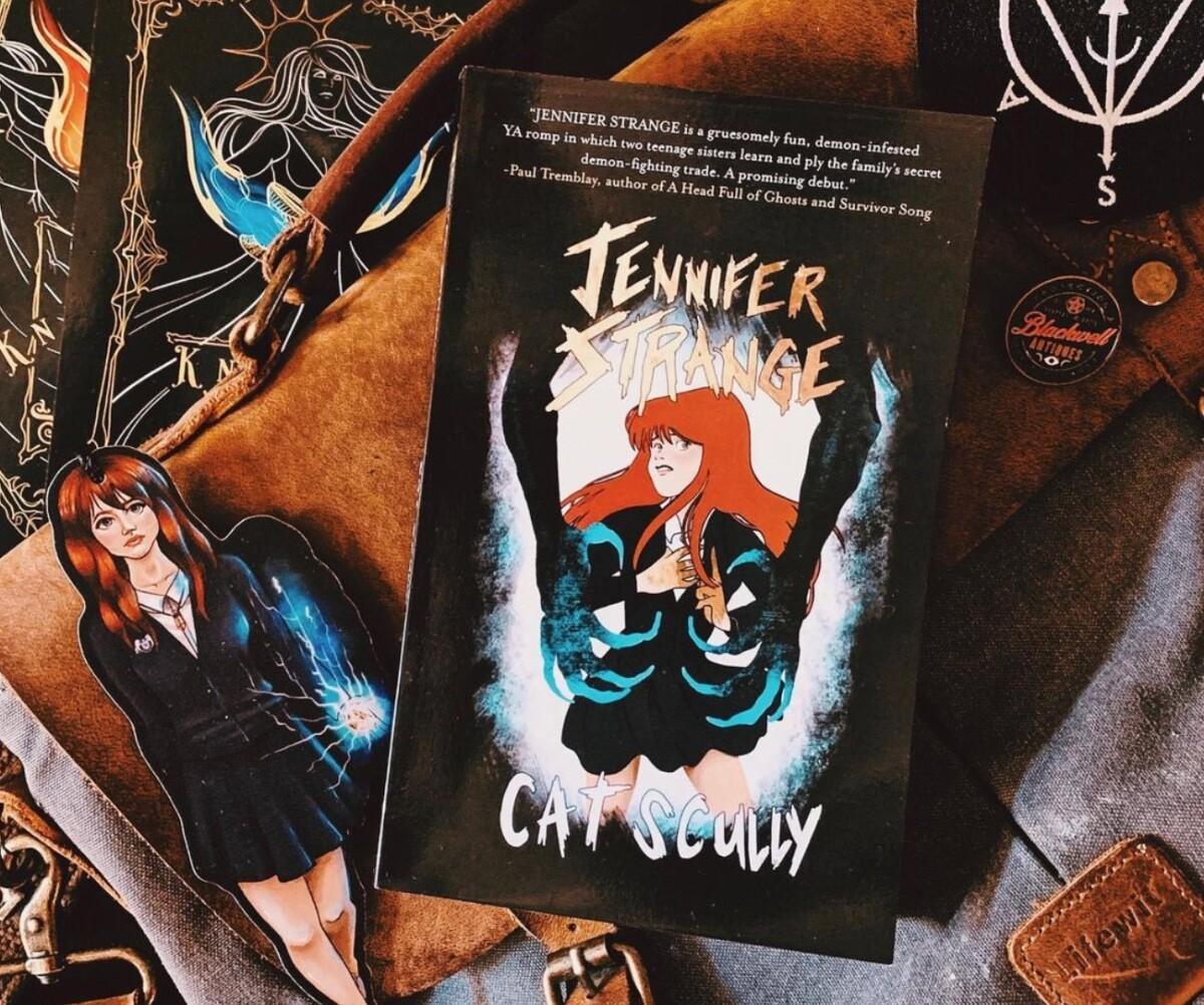 Jennifer Strange by Cat Scully
