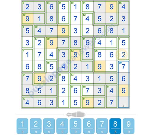 Puzzle Page Killer Sudoku Issue 1 Page 4 Answers