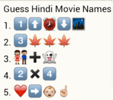 Guess hindi movie names