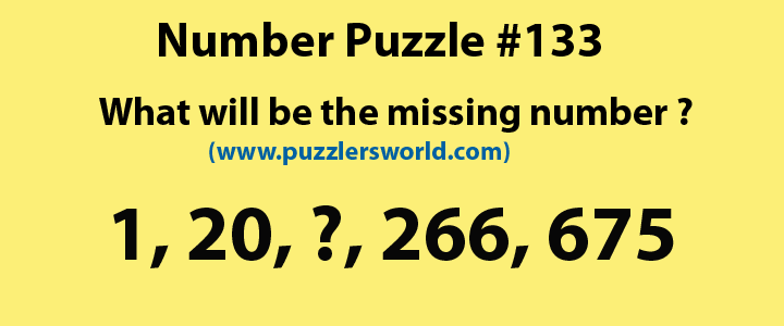 Number-Puzzle-#133-1,20,..,266,675