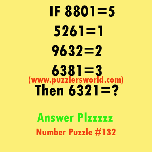 Number-puzzle-#132-if-8801-=-1