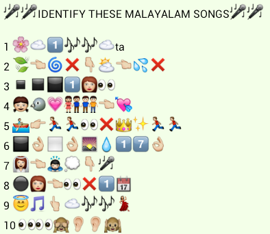 identify these malyalam songs