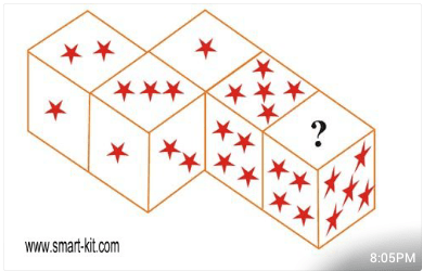 dice and stars puzzle