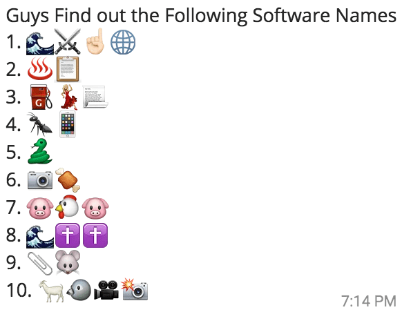 find-out-software-names-whatsapp-puzzle