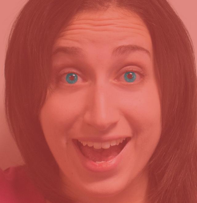 Blue Eyes Illusion