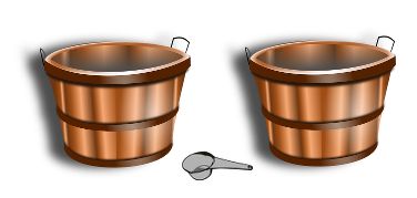 Water and Wine Buckets