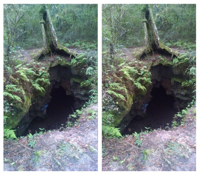 Into the Abyss 3D Cross-View Stereogram