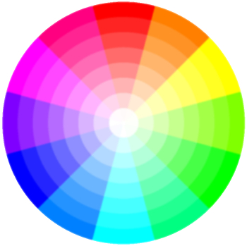 Modern Color Wheel