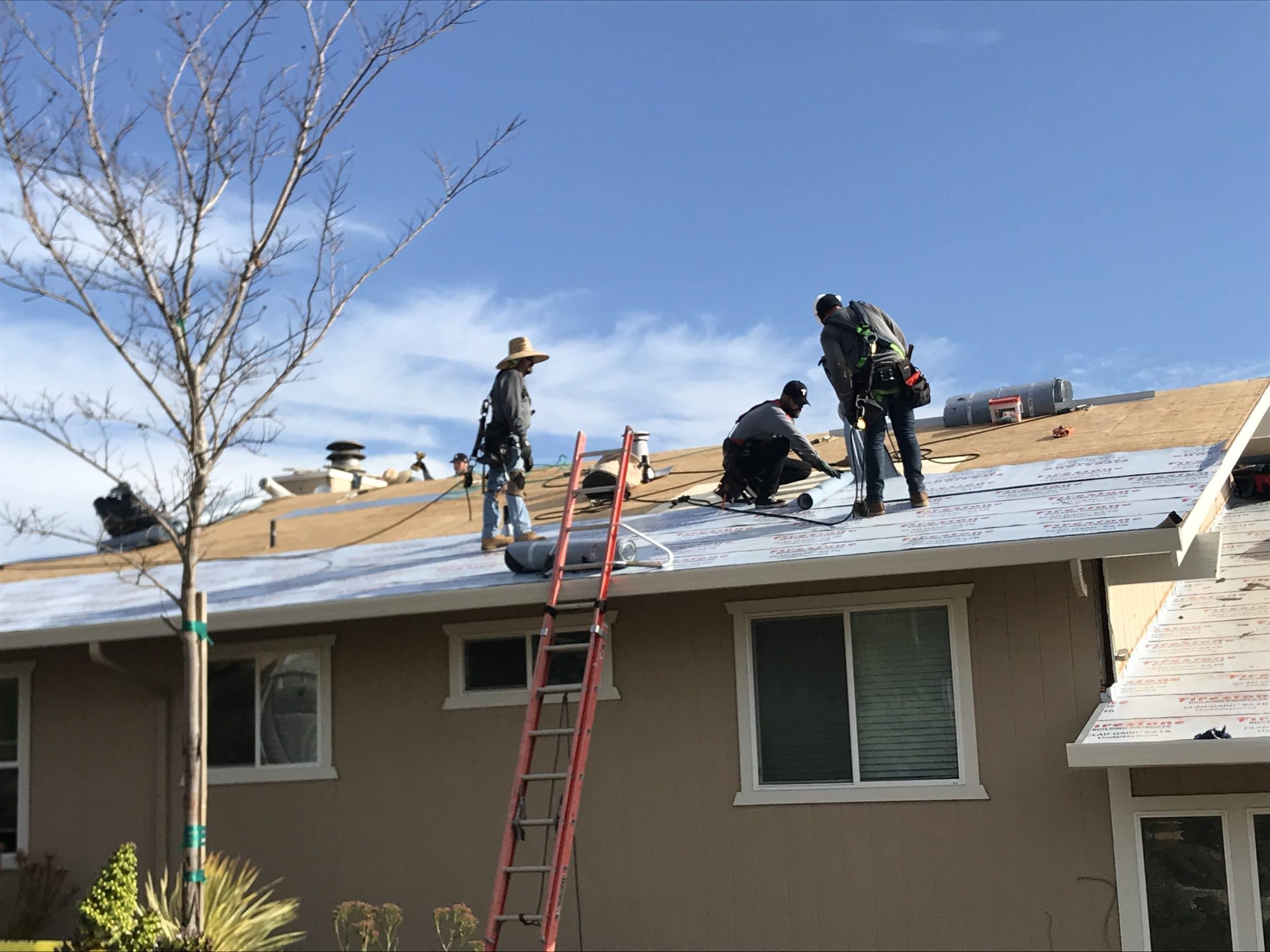 tesla solar roof tile installations