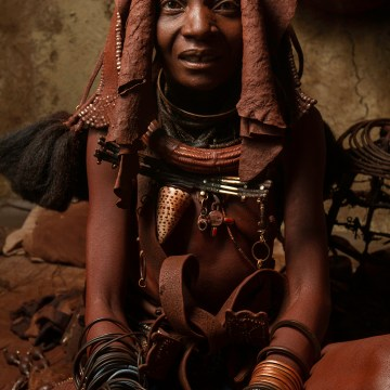 "Himba Woman, Nambia by Mary Altier, $200, Color Photograph 18"" x 12"""