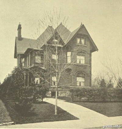 0 'Glen Zephyr' , residence of Mr. Sturgeon Stewart, Dowling Ave, Toronto Old and New pub 1881
