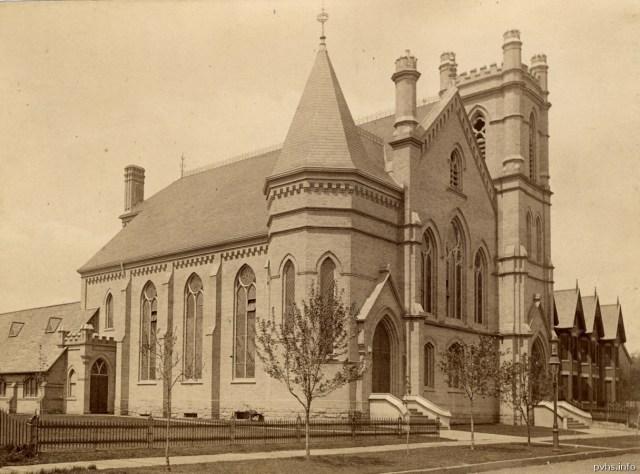 11 1880- Parkdale Presbyterian Church on Dunn Ave. south of Queen St W. Tor Pub Lib