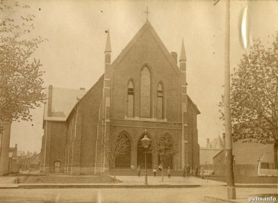 1896-Cowan Ave. Methodist Church, Cowan Ave., w. side, between King & Queen Sts. W - Toronto Public Library Special Collections - bia