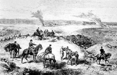 1885 Battle of Fish Creek