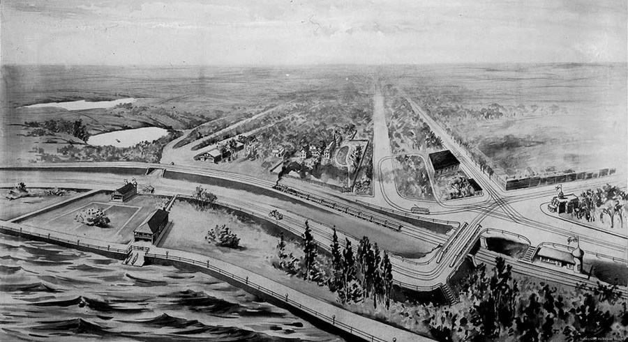 1914 Sunnyside Plan. the plan was largely completed by 1923 and was wildly successful.