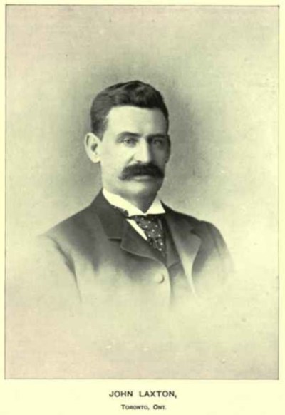 4. John Laxton, the initial owner of 1408 1410 Queen St West, was the Manager of Consumers Gas. He went on to own many buildings in Parkdale. More on this later. His 17-year-old daughter eloped with John Guinane, who was big in the shoe business. They lived happily at 2 Laxton Ave. More about John, Catherine and their beautiful home later.